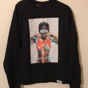 Men's Diamond Supply Black Sweatshirt Size Medium
